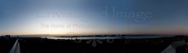 Dundee Law Sunrise Panoramic Photography